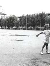 Un bambino albanese biondissimo